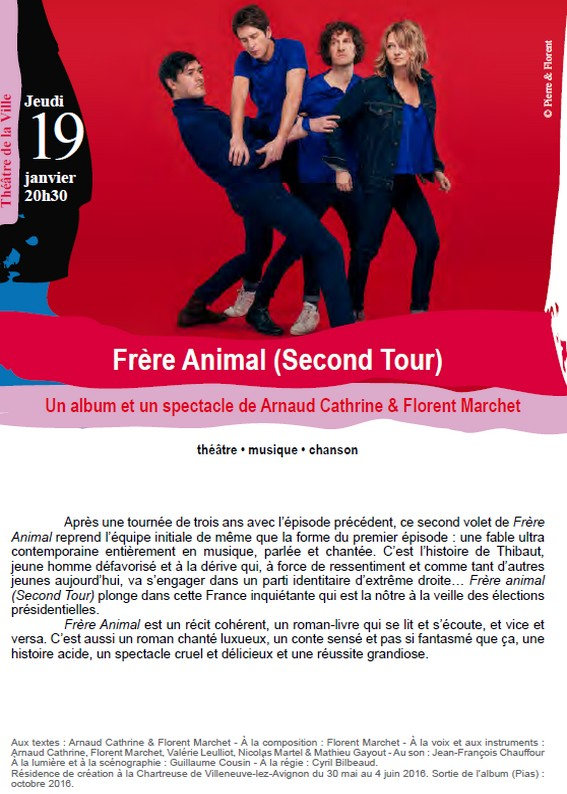 Frre Animal Second Tour