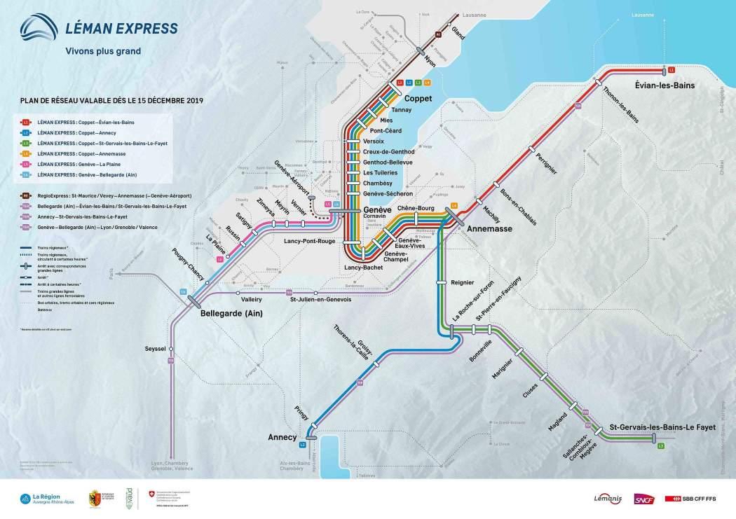 réseau léman express